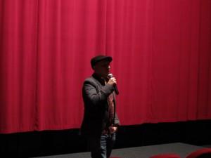 Darío Aguirre beantwortet die Fragen des Publikums.