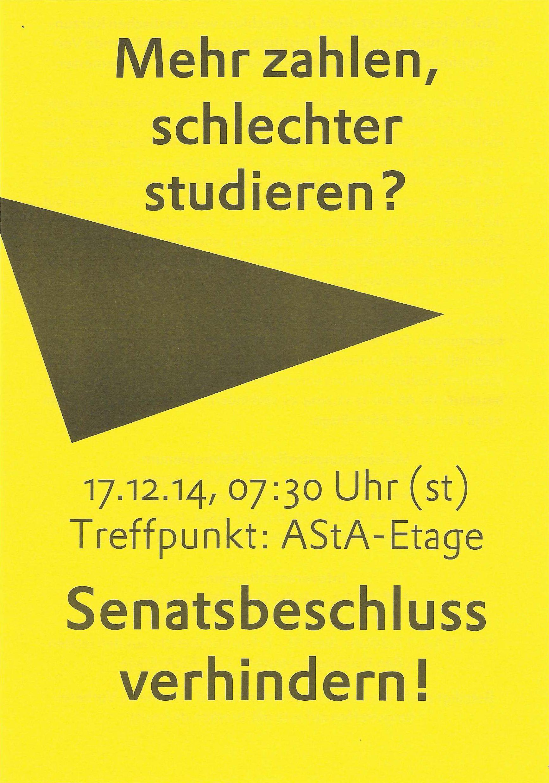Flyer des AStAs