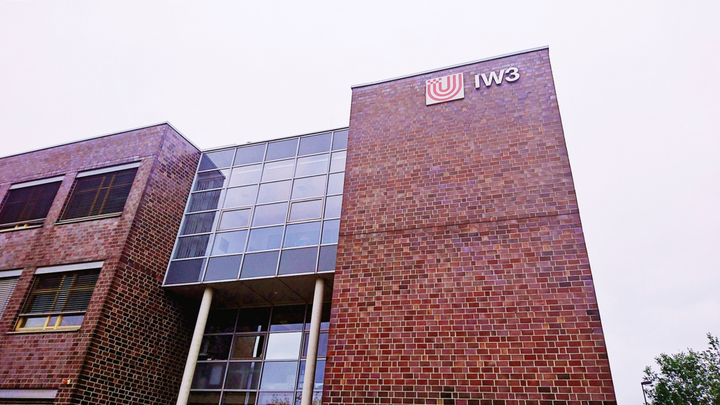 Das IW3-Gebäude an der Uni Bremen