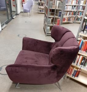 Ein gemütlicher Platz in der Stadtbibliothek