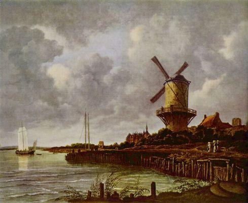 Jacob Isaaksz. van Ruisdael: Mühle von Wijk (1670)