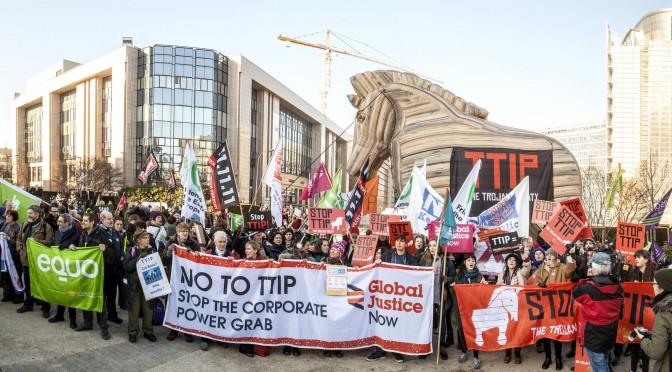 Freihandelsabkommen TTIP – eine Gefahr für die Demokratie