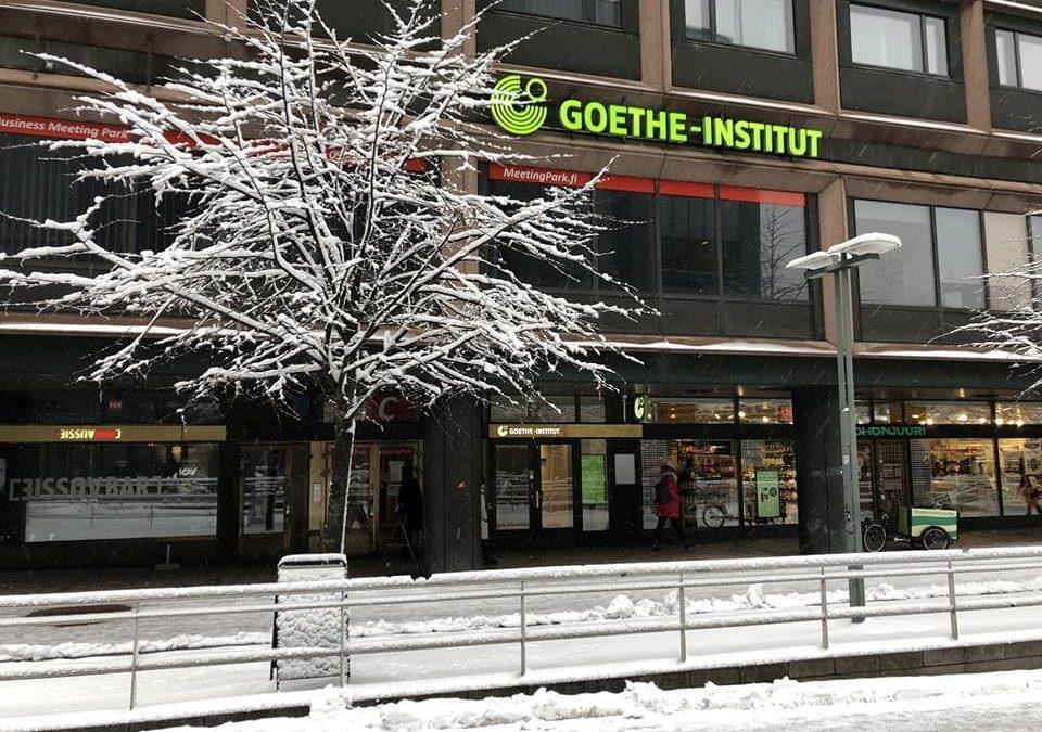 Erasmus+ Praktikum am Goethe-Institut Finnland in Helsinki
