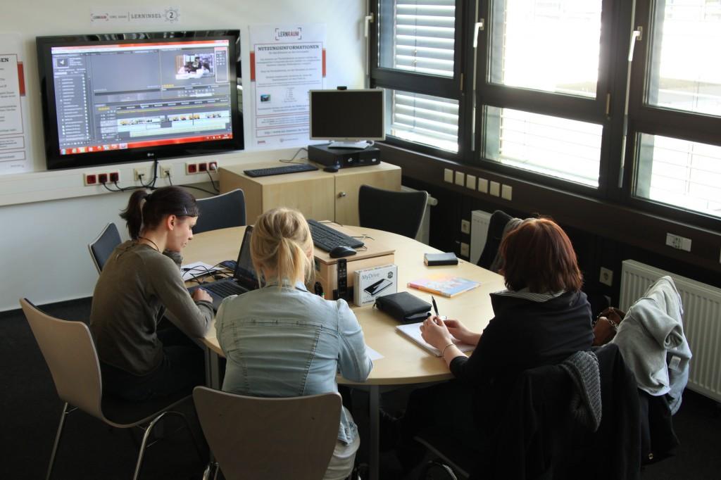 Abbildung 3: Einblick in die multimedialen Lernräume im GW2