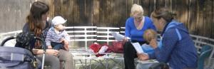 Abbildung 2: Mitglieder der AG Familienfreundliches Studium auf dem Campus