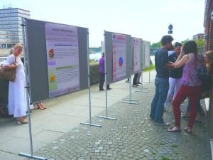 Abbildung 3: Posterausstellung der Mikro-Forschungsprojekte von Bachelorstudierenden