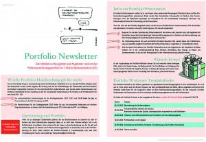 Abbildung 2: Portfolio-Newsletter