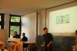 Vorstellung von wissenschaftlichen MitarbeiterInnen und der drei Rechtsgebiete (Septemberakademie 2015).