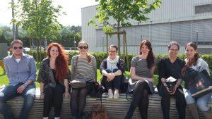 Studierende und Lehrende des FB 06, die an der Konferenz teilgenommen haben (Sommersemester 2016).