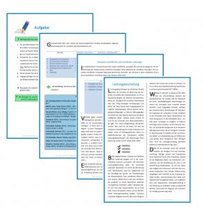 Abbildung 8: Aufgabe Leistungsbeurteilung